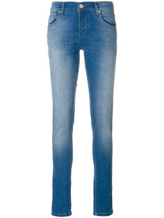 расклешеленные джинсы скинни Versace Jeans