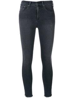 узкие укороченные джинсы Rag & Bone /Jean