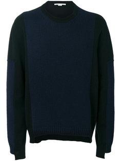 вязаный свитер с панельным дизайном Stella McCartney