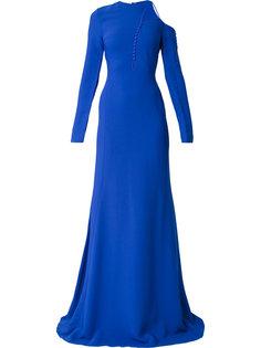 асимметричное платье с пышной юбкой  Antonio Berardi
