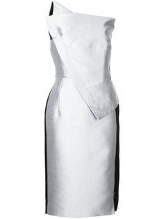 приталенное асимметричное платье  Antonio Berardi