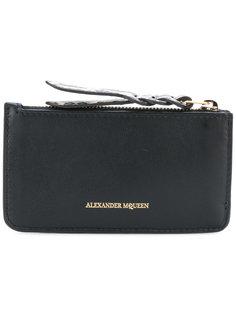 кошелек для монет на молнии Alexander McQueen