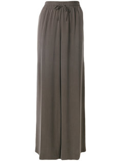 широкие брюки с эластичным поясом Joseph