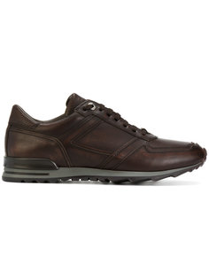 кроссовки на шнуровке Canali