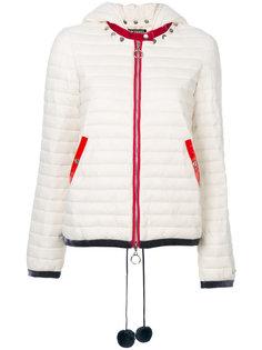 куртка с капюшоном и воротником с заклепками Twin-Set