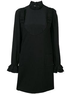 многослойное платье с оборчатым воротником Twin-Set