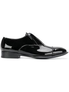 ботинки-дерби без застежки Alexander McQueen