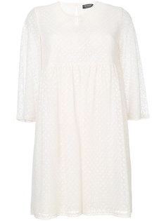 короткое платье с геометрическим узором Twin-Set