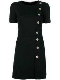 платье-мини со смещенной застежкой Twin-Set