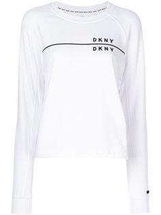 толстовка с логотипом бренда DKNY