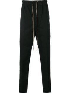 брюки с эластичным поясом Rick Owens