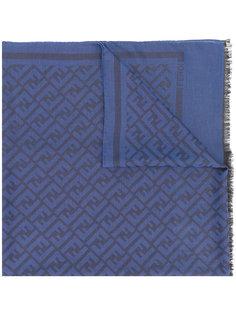 шарф с логотипом FF Fendi