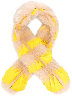 шарф с контрастной отделкой Givenchy