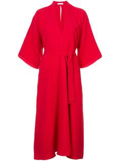 платье с поясом на талии Tome