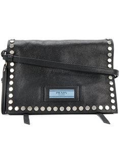 сумка на плечо с заклепками Etiquette Prada