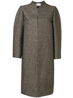 пальто с металлическим отблеском Lanvin