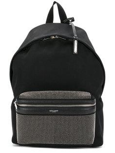 рюкзак с заклепками Saint Laurent