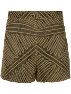 lace shorts Martha Medeiros