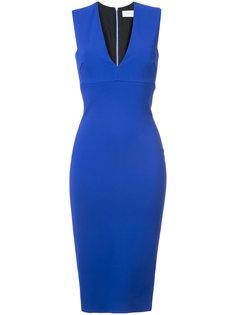 облегающее платье миди Victoria Beckham