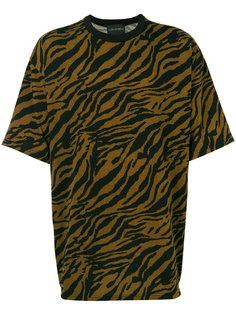 свободная футболка с тигриным принтом Yuiki Shimoji