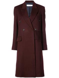 двубортное пальто Victoria Beckham