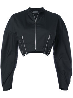 cropped bomber jacket Tome