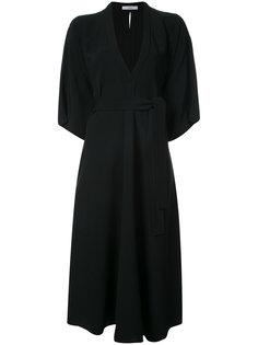 deep V-neck dress Tome