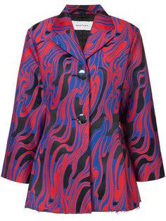 printed blazer  Marquesalmeida