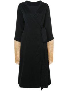 платье с запахом Ritz с бахромой Ellery