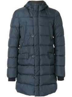 стеганое пальто с капюшоном Herno