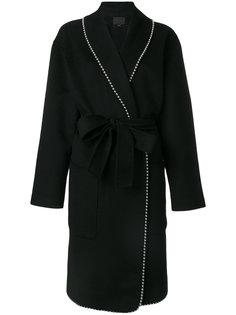 классическое пальто с поясом Alexander Wang