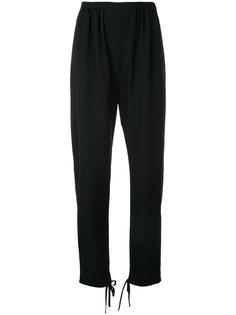 брюки с завязками на манжетах  Chloé