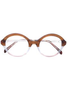 очки с круглой оправой Emilio Pucci