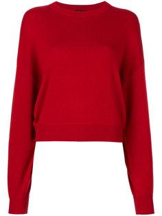 ребристый свитер с круглым вырезом Theory