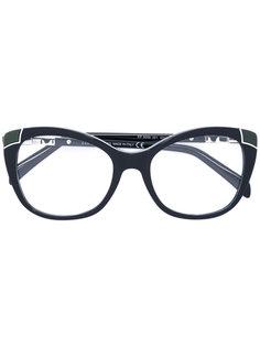 очки в оправе формы кошачий глаз Emilio Pucci