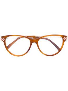 очки с массивной оправой Emilio Pucci