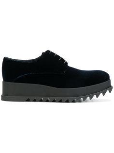 ботинки на шнуровке Jil Sander