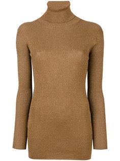 трикотажный свитер узкого кроя Prada