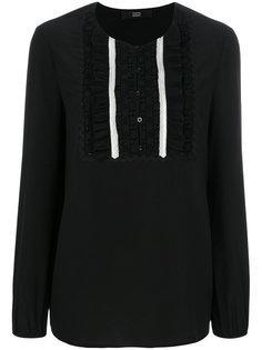 блузка с ажурной манишкой Steffen Schraut