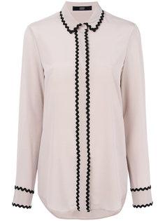 блузка с контрастной отделкой Steffen Schraut