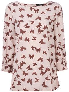 блузка с бабочками Steffen Schraut