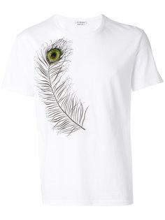 рубашка с пером Alexander McQueen