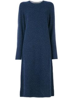 вязаное платье длины миди Joseph