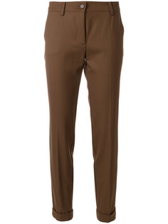 брюки кроя слим P.A.R.O.S.H.