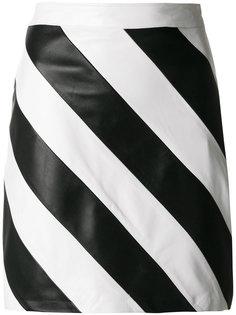 полосатая мини-юбка Manokhi