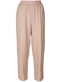 брюки с эластичной талией Agnona