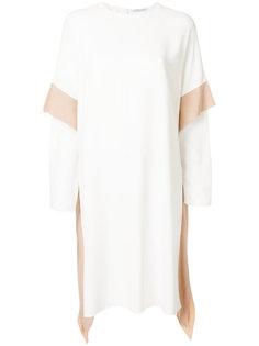 платье с двойными рукавами Agnona
