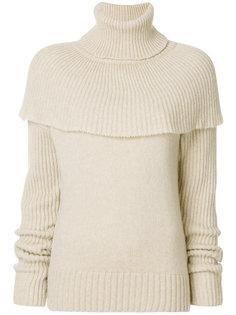 свитер с имитацией кейпа Agnona