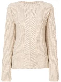 свитер с ребристой фактурой Agnona
