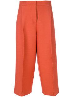 укороченные брюки строгого кроя Fendi